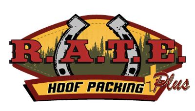 RATE Hoof Packing Plus logo