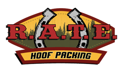 RATE Hoof Packing logo